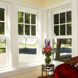 Classically Styled Sash Windows